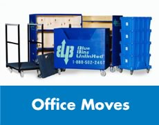 Commercial Plastic Moving Boxes